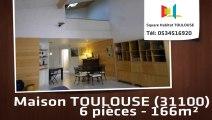 A vendre - Maison/villa - TOULOUSE (31100) - 6 pièces - 166m²