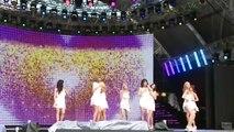 150905 2015 DMC KPOP Super Concert SNSD - Gee & Lion Heart Rehearsal