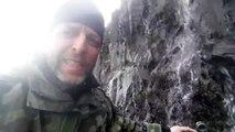 Islandia en solitario. Rellenando la cantimplora. Abril 2015. Iceland