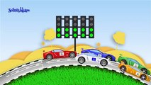Racing Cars Auto racing machine Developing cartoon