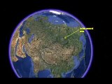SINK HOLE SIBERIA, WORM HOLE, POLE SHIFT, BIG EARTHWORM, UFO, METEORITE, BIG WORM HOLE