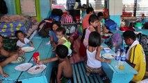 Typhon aux Philippines : témoignages poignants de mères de familles