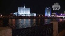 Дом Правительства без света: Час Земли-2015