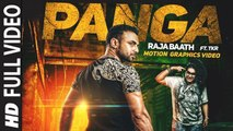 Panga (Full Video) Raja Baath Feat TKR | New Punjabi Song 2015 HD