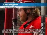Chris Dingman om att spela i Sverige & för SSK - GRiSHoCKEY