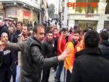 #Galatasaray ve #Chelsea taraftarları arasında gerginlik!