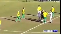 Epic Funny Football Goal and Fairplay at Ajax Amsterdam Soccer Match