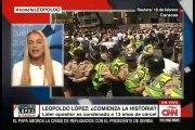 Lilian Tintori: Leopoldo López está un calabozo de dos por dos metros