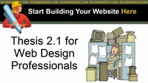 Thesis 2.1 for Web Design Pro - Pt 11 - Thesis 2.1 Developer Tool Box