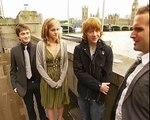Daniel Radcliffe, Emma Watson and Rupert Grint interview on doing press