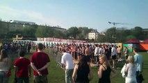 Bitwa na balony z woda Politechnika Lubelska Juwenalia 2013