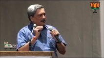 Manohar Parrikar's Stinging Question to AAP ! Can #AAPtards Reply ?