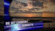 BIG SKY COUNTRY /  SF BAYLANDS SKY SUNRISE & SUNSET ((HD)) Time-Lapse Menlo Park Ca