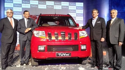 Mahindra TUV300 Available at Rs 6.90 lakh | Car Launch In India 2015