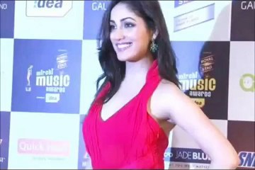 Yami Gautam Beautiful RED at Radio Mirchi Music Awards
