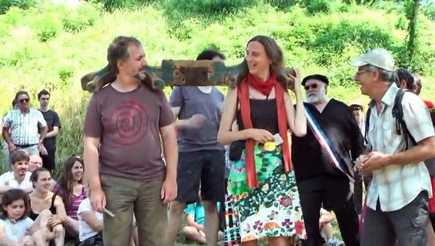 06 Visite du village guider les boeufs en béarnais