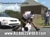 White Guy DESTROYS Black Gangster | AMAZINGLY BRUTAL FIGHT