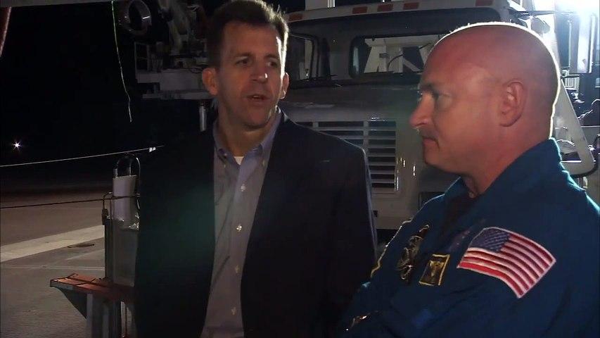 STS-134 Landing Crew Comments