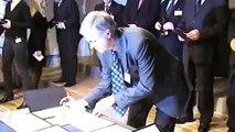 Signing Ceremony Arts Festivals' Declaration, 8 January 2008