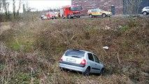 12 april: wagen stort 15 meter diep langs Brusselse Ring