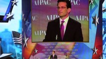 """Ensure Israel's ability to contribute to humanity""- US House Majority Rep. Eric Cantor at AIPAC '13"