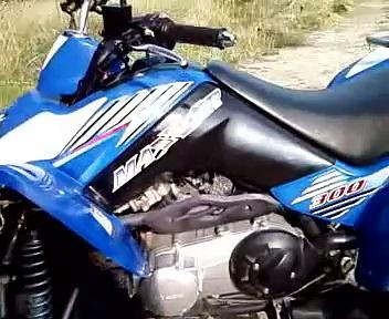 kymco maxxer 300… il mio quad