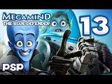 Megamind The Blue Defender Walkthrough Part 13 (PSP) Waterfront Level 3