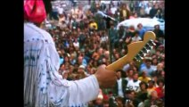 Jimmy Hendrix-Woodstock-18 Aout 1969-Star spangled banner.