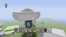 USS Enterprise warp nacelles: Flyaround of Minecraft USS Enterprise starship by Andy