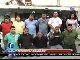 """En Tultitlán, Policía Federal libera a tres personas secuestradas por """"Los Mudos"""""""