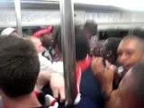 psg fcna tribune boulogne ambiance metro