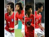 Korean Fantastic4 Park ji-sung//Lee chung-yong//Park joo young//Ki Sung-Yueng