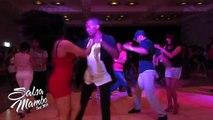 Juan Matos Social Dancing at Salsa Mambo Fest 2014