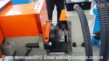 NICE single end chamfering machine for pipe tube solid bar