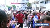RCT-La Rochelle: arrivée des Toulonnais au stade Mayol