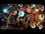 Tony Royster Jr - Dennis Chambers Drum Jam Battle Part 1