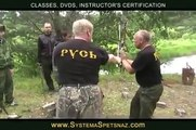 Systema Spetsnaz Training - Stick Fighting Exercises - video