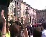 Beppe Grillo e Marco Travaglio al V2-day di Torino -3°parte