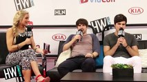 Ian & Anthony (Smosh) Reveal Favorite Pick-Up Lines & Silly Dance Moves! (VIDCON 2014)