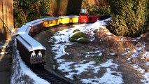 Winter on the garden railway - Winter auf der H D&RGW - LGB US Gartenbahn Jens Handro