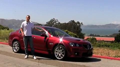 Pontiac G8 GXP Video Review