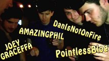CONNOR FRANTA FLIPPING OUT OVER CRAZY MAGIC w PointlessBlog Joey Graceffa DanIsNotOnFire AmazingPhil