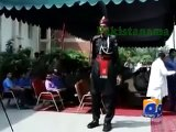 Pakistan Appointed Tallest Ranger at Wagah Border Lahore