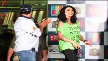 Sexy Preity Zinta in Tight Black Jeans Hot Green Top