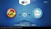 Samedi 12 Septembre à 18h00 - Calais RUFC - FCM Aubervilliers - CFA A J5 (REPLAY) (2015-09-12 17:40:51 - 2015-09-12 20:12:08)