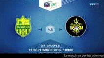 Samedi 12 Septembre 2015 à 18h00 - FC Nantes B - US Saint-Malo - CFA D J5 (REPLAY) (2015-09-12 17:41:40 - 2015-09-12 20:02:45)