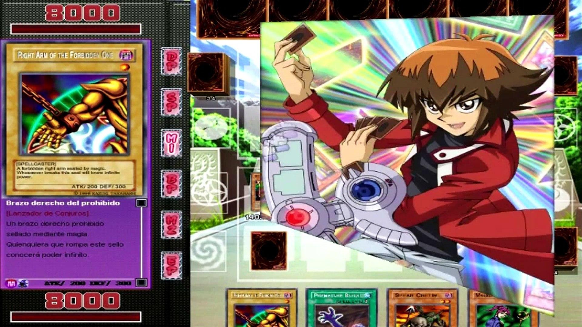 Yu-Gi-Oh | GX JTF | Deck de Exodia