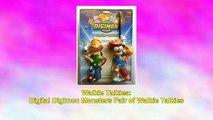 Digital Digimon Monsters Pair of Walkie Talkies