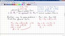 PreCalculus 11 Chp 1.1 - Arithmetic Sequences