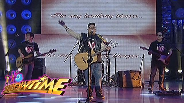 "It's Showtime: Itchyworms performs ""In Love Ako Sa'Yo"""